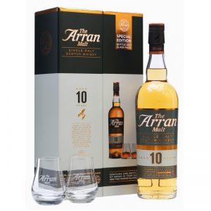 ARRAN 10 Years mit 2 Gläsern