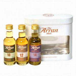 ARRAN Trio 3x5cl