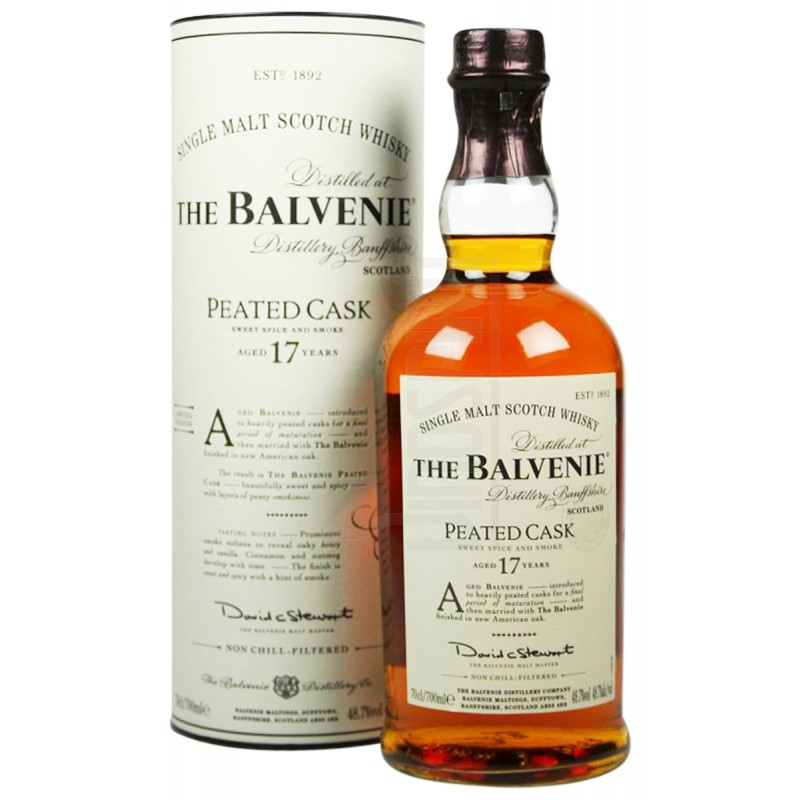 THE BALVENIE 17 Years Peated Cask