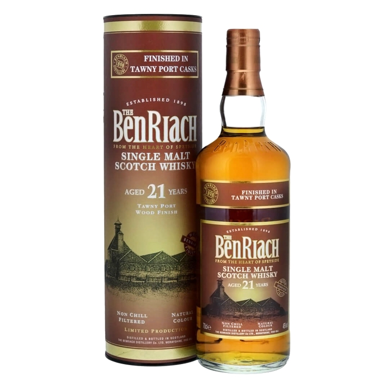 BENRIACH 21 Years Tawny Port Finish