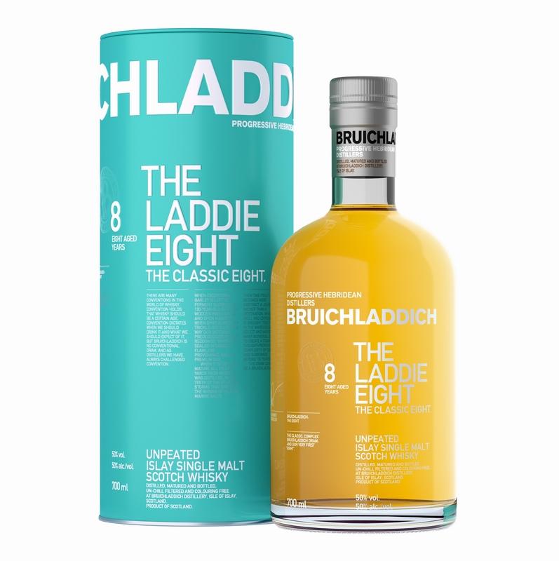 BRUICHLADDICH The Laddie Eight 8 Years