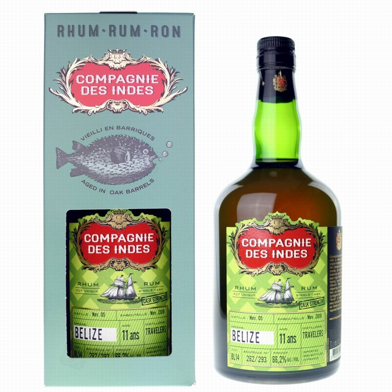COMPAGNIE DES INDES Belize Travelers 11 Years Single Cask