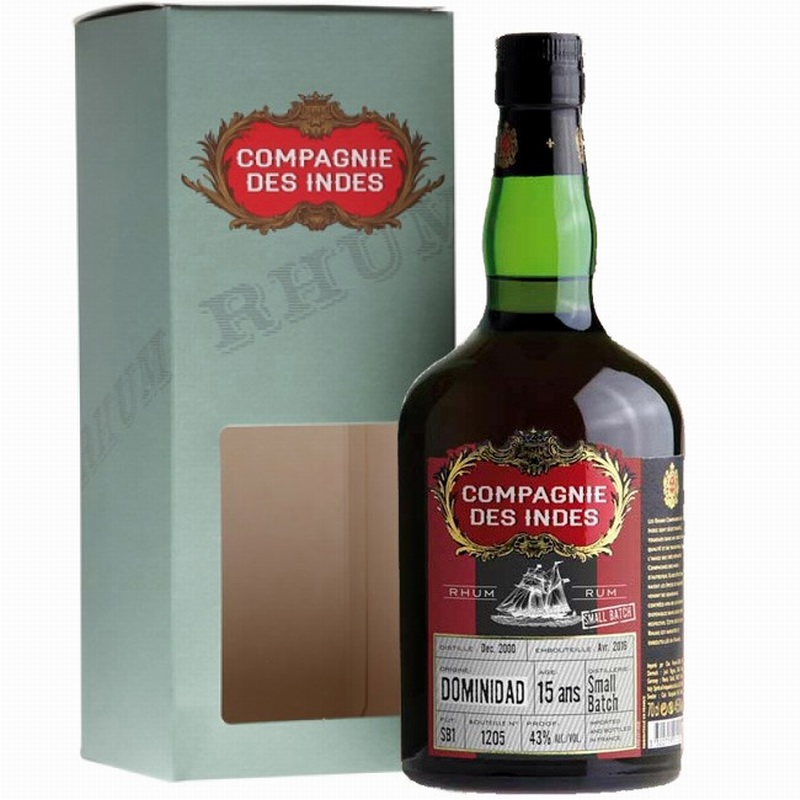 COMPAGNIE DES INDES Dominidad Small Batch 2 15 Years Single Cask
