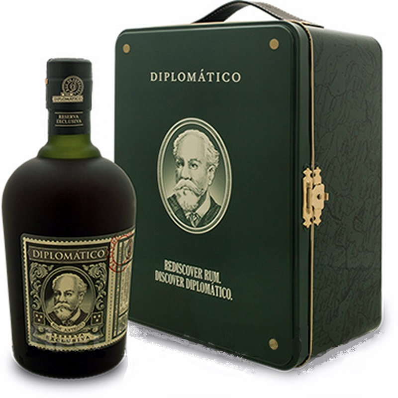 DIPLOMATICO Exclusiva Gran Reserva 12 Years Metal Gift Box