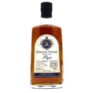 DUNCAN TAYLOR Single Cask Bellevue Distillery 1998 18 Years
