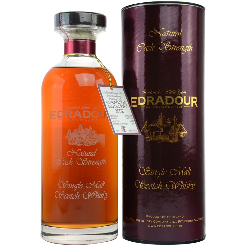EDRADOUR 2002 Decanter Collection Sherry Butt