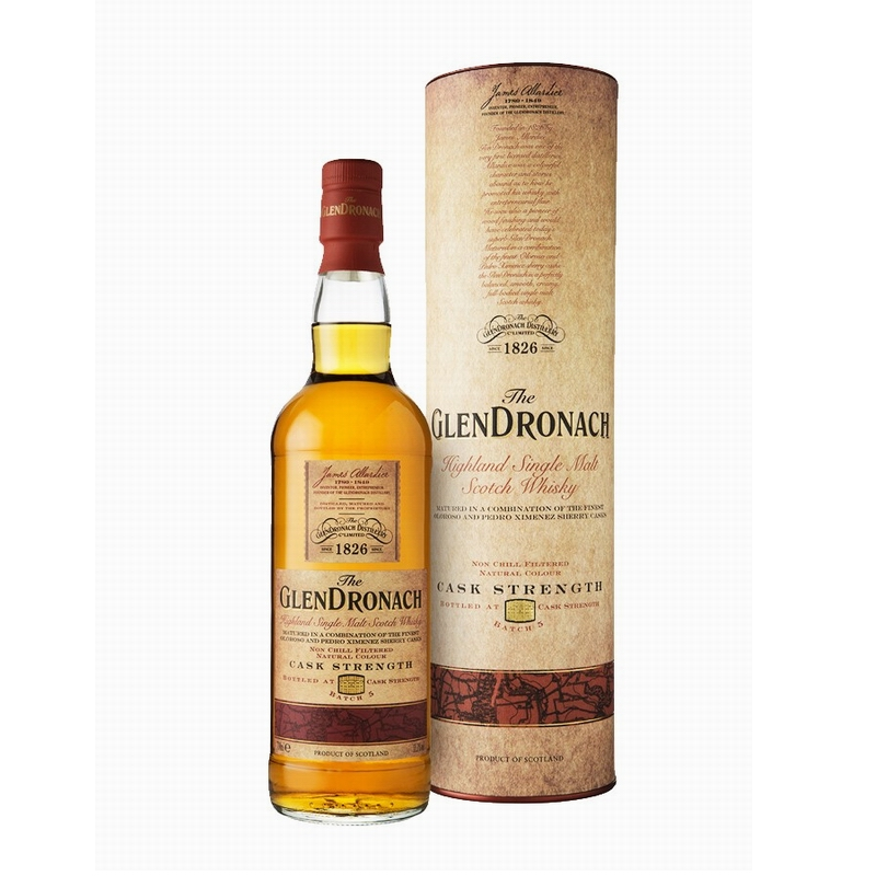 GLENDRONACH Cask Strength Batch 5