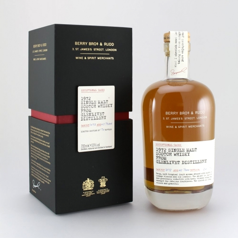 GLENLIVET 1972 Berry Brothers & Rudd