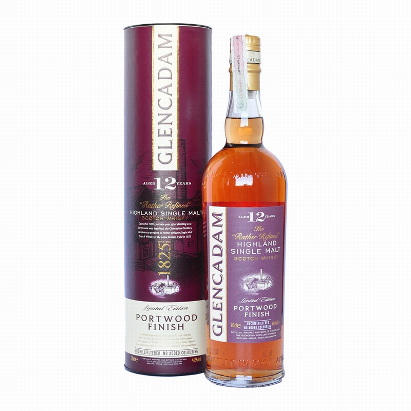 GLENCADAM 12 Years Port Finish
