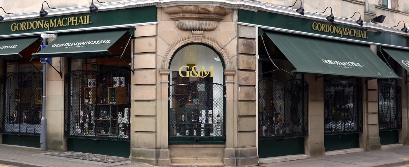 Gordon & MacPhail Shop in Elgin