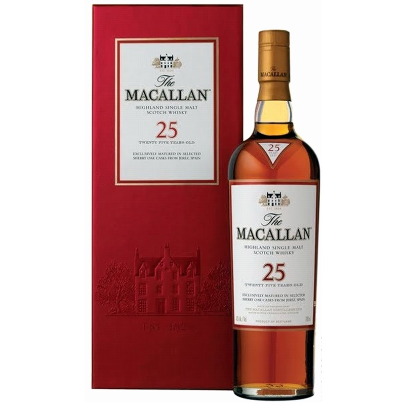 MACALLAN 25 Years Sherry Oak