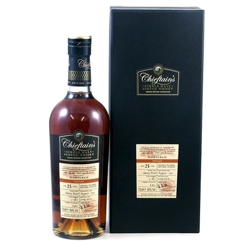 MORTLACH 25 Years 1990 Sherry Butt