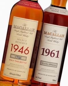 Macallan 1946 und 1961