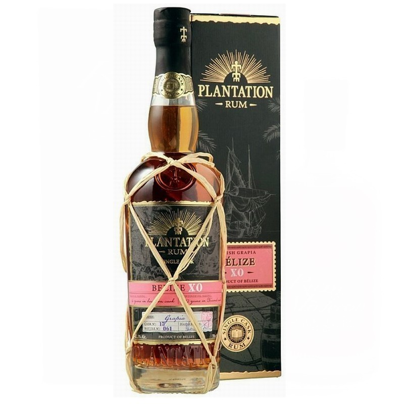 PLANTATION RUM Belize XO 8 Years Single Cask Grapia Finish
