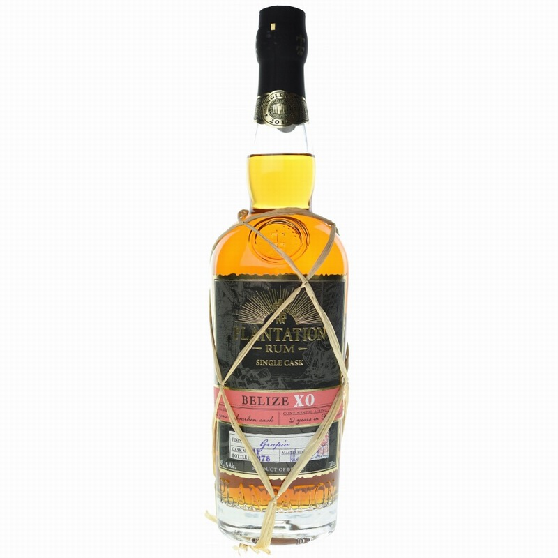 PLANTATION RUM Belize XO Single Cask Bottling 2017