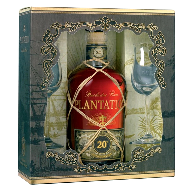 PLANTATION RUM XO 20th Anniversary Geschenk-Set