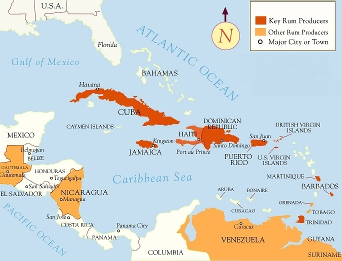 Rum producing Countries