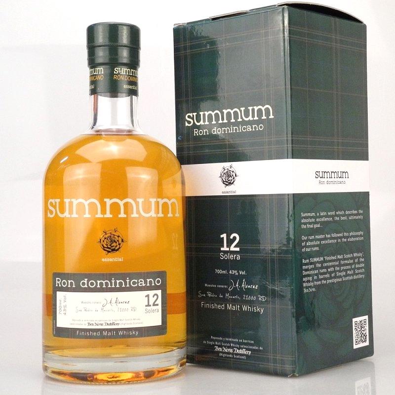 SUMMUM Solera 12 Years Whisky Cask