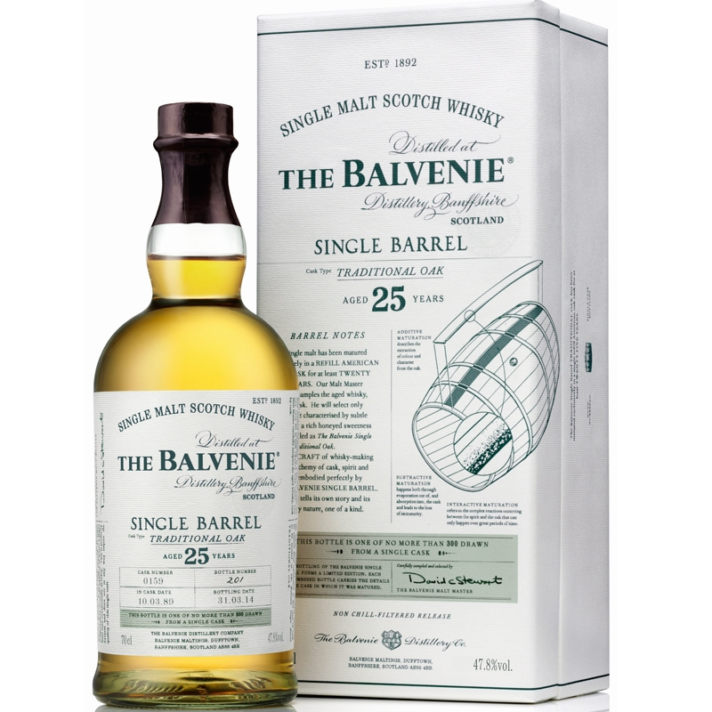 THE BALVENIE 25 Years Single Barrel