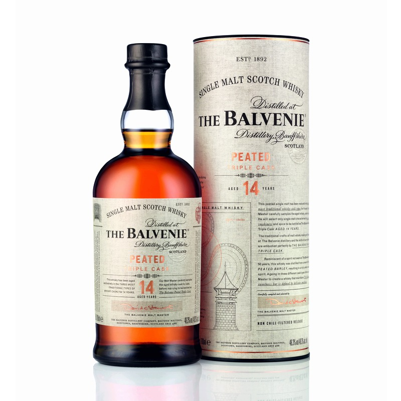 THE BALVENIE Peated Triple Cask 14 Years