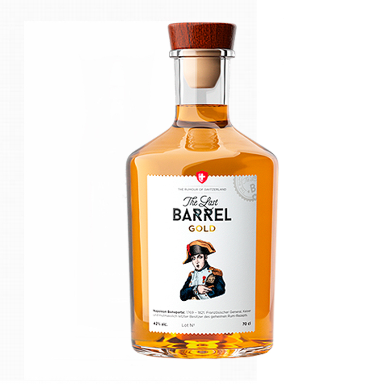 THE LAST BARREL Gold