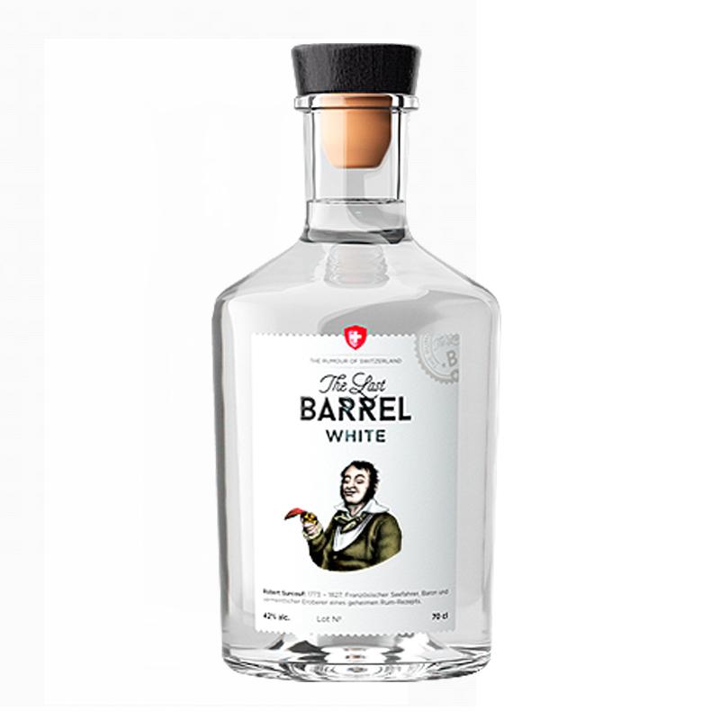 THE LAST BARREL White