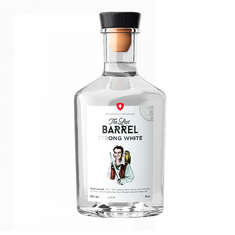 THE LAST BARREL Strong White