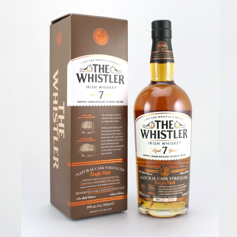THE WHISTLER 7 Years Cask Strength