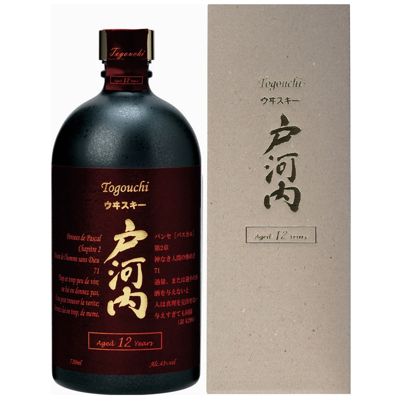 TOGOUCHI Premium Whisky 12 Years