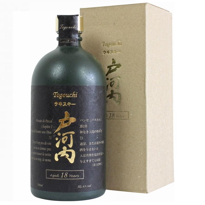 TOGOUCHI Premium Whisky 18 Years