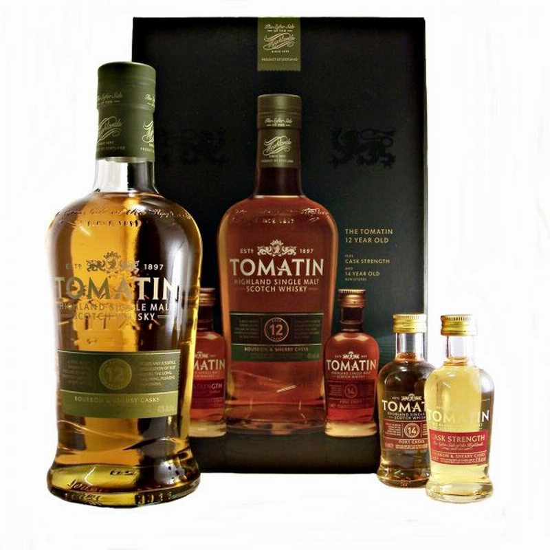 TOMATIN 12 Years Gift Pack