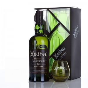 ARDBEG 10 Years Ten (Geschenkp. mit Glas)