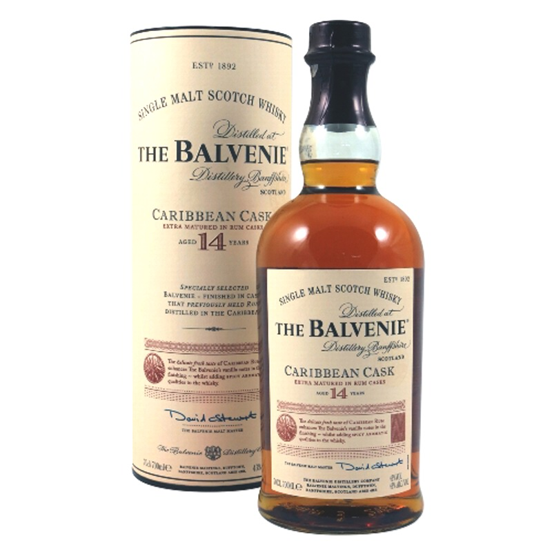 THE BALVENIE 14 Years Caribbean Cask
