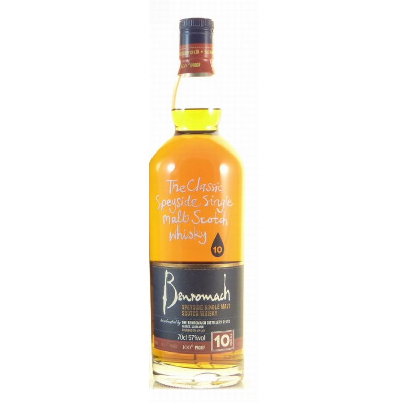 BENROMACH 10 Years 100 Proof