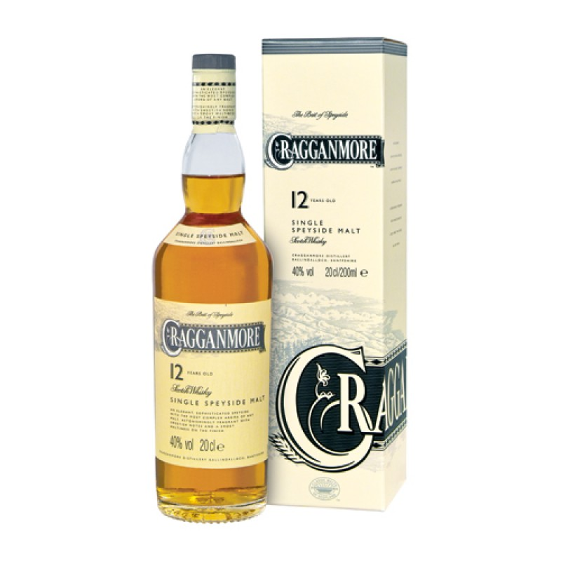 CRAGGANMORE 12 Years Classic Malts