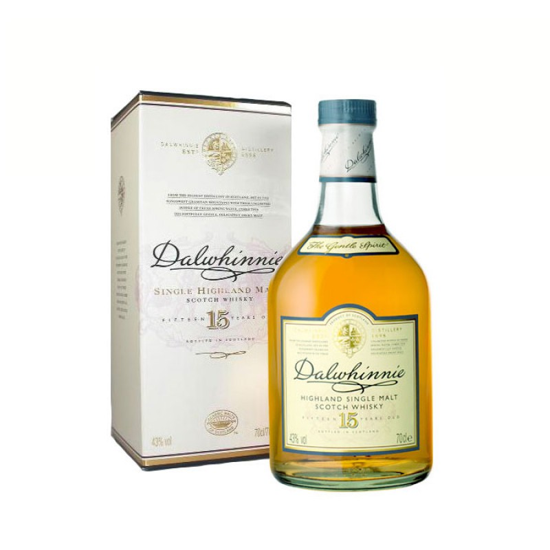 DALWHINNIE 15 Years Classic Malts