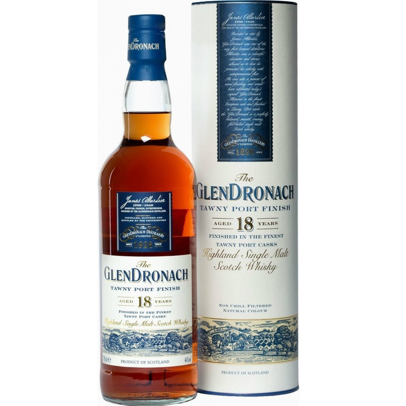GLENDRONACH 18 Years Tawny Port Finish