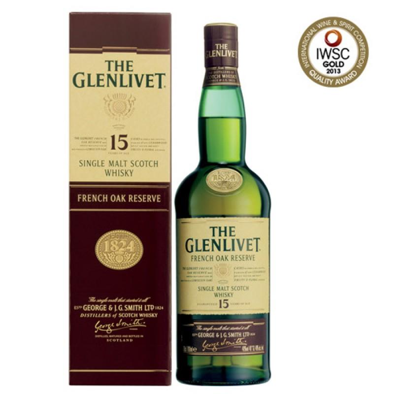 GLENLIVET 15 Years French Oak