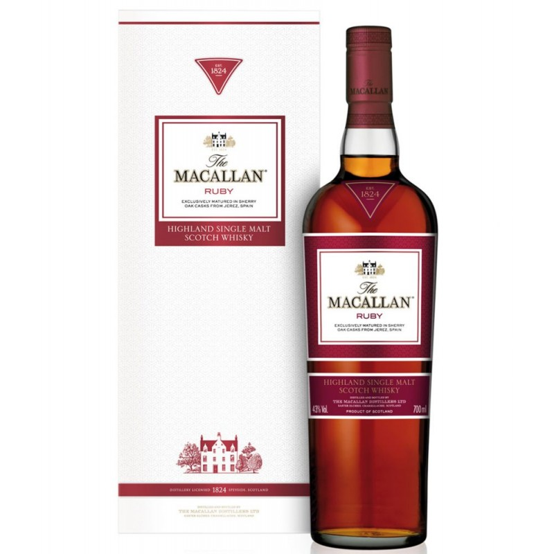 MACALLAN Ruby 1824 Series
