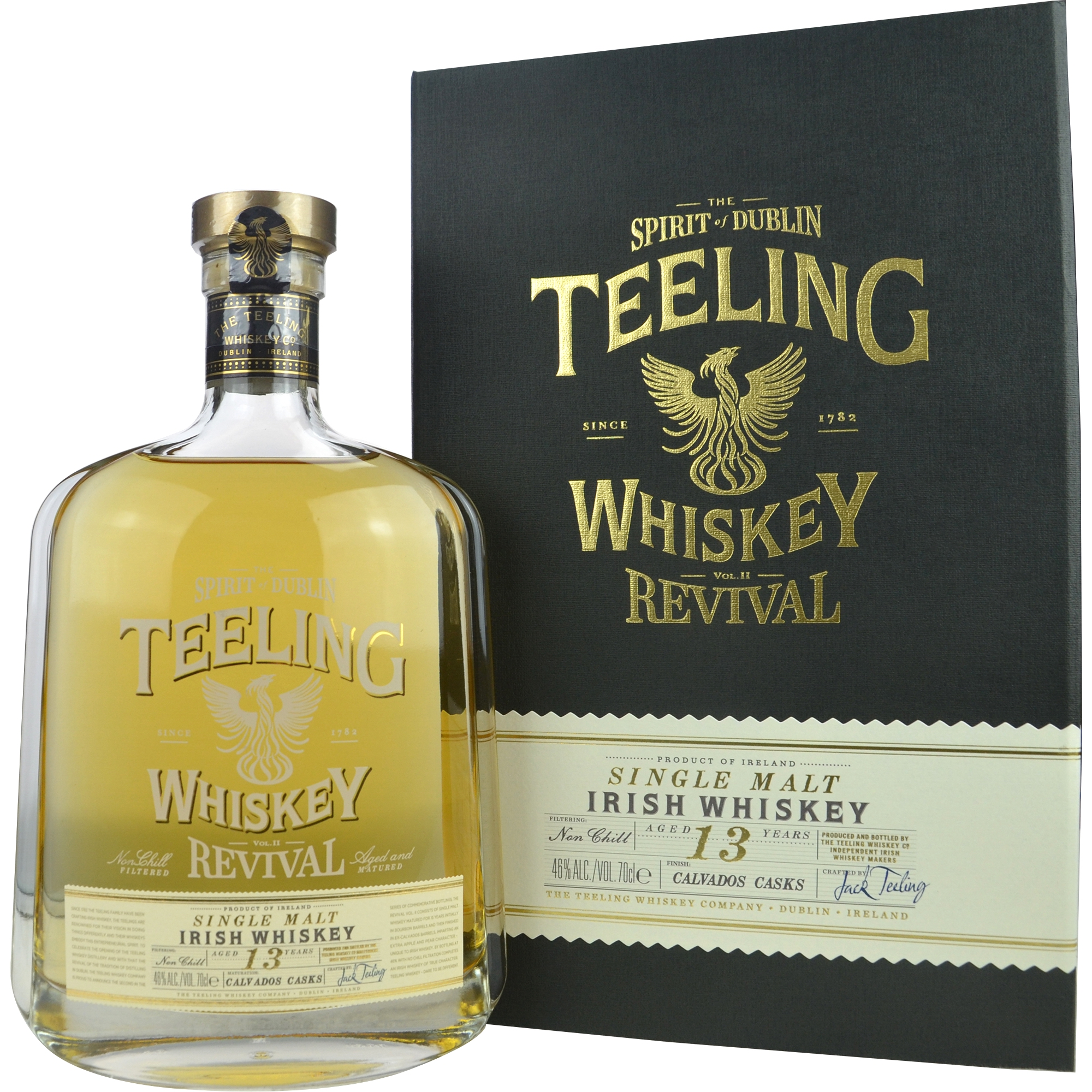 TEELING 13 Years Revival Calvados Cask