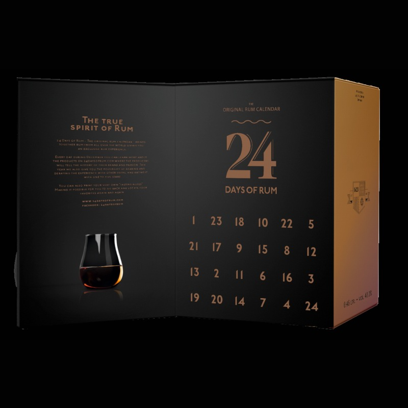 24 DAYS OF RUM Adventskalender 2018