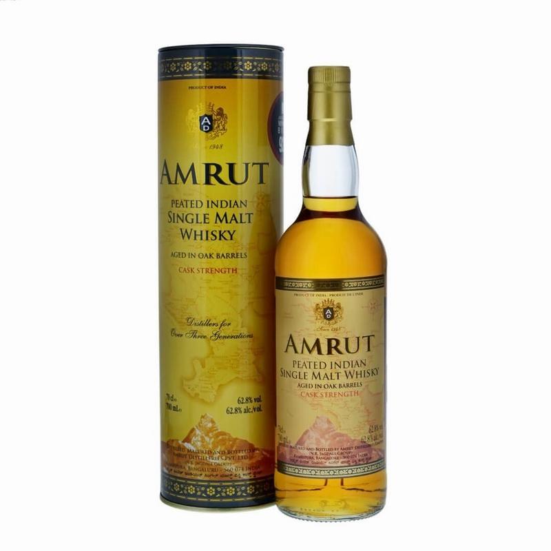 AMRUT Single Malt Peated Cask Strength