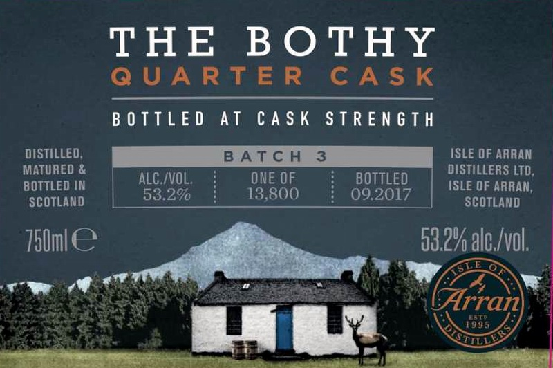 ARRAN Bothy Batch 03 Label