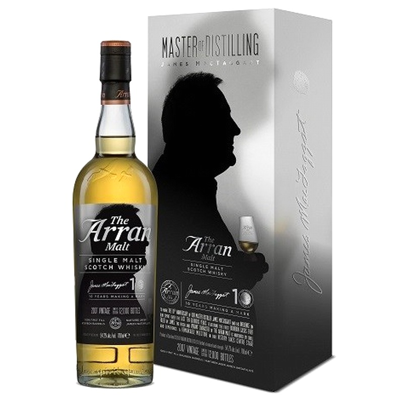 ARRAN James MacTaggart Anniversary Single Malt