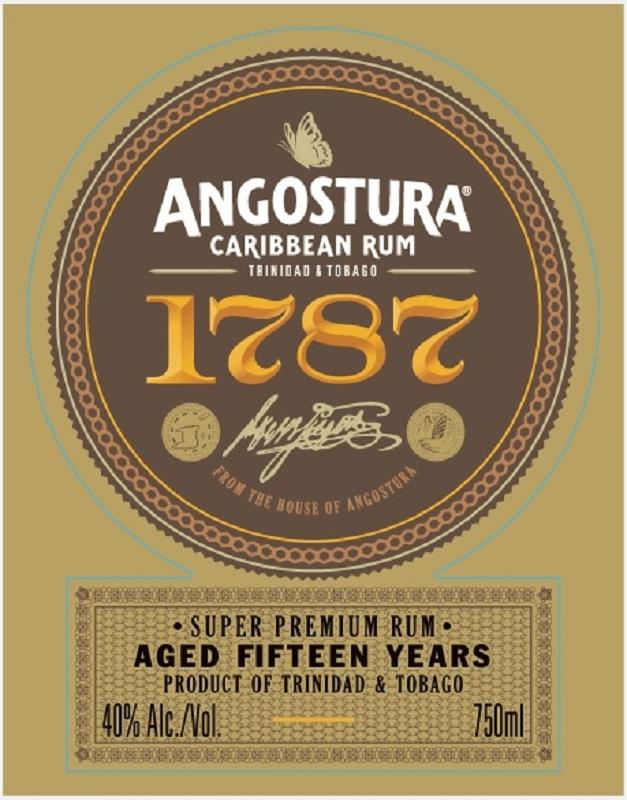 ANGOSTURA 1787 15 Years
