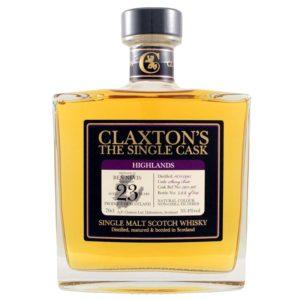 BEN NEVIS 1995 23 Years Claxton's The Single Cask