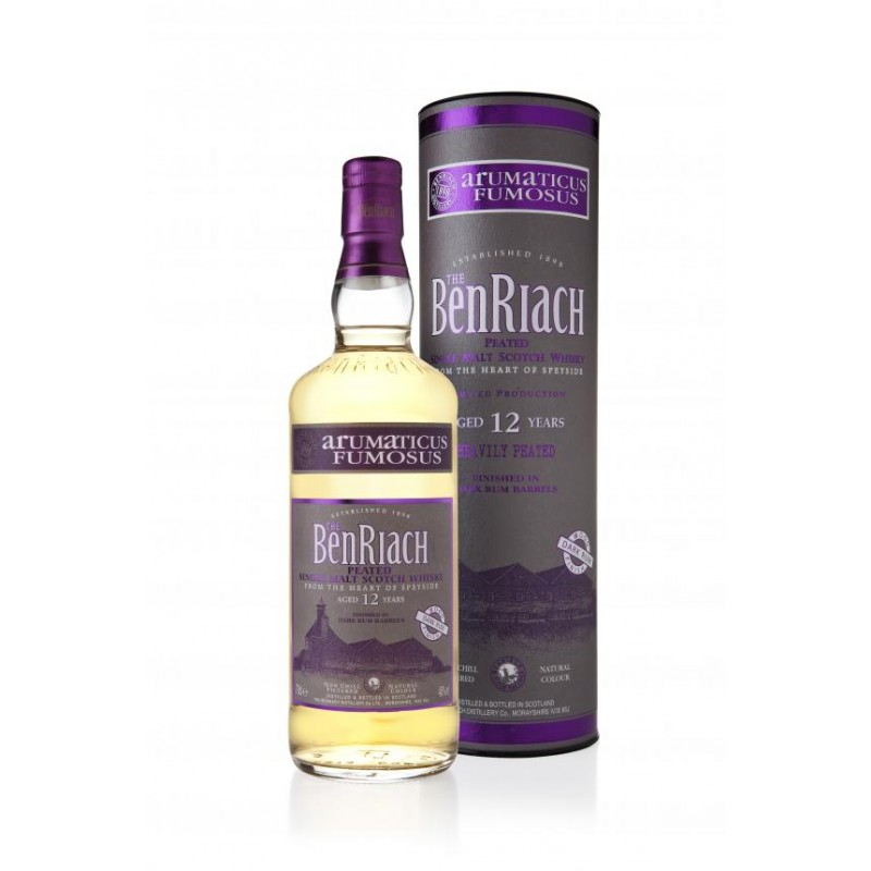 BENRIACH 12 Years Arumaticus Fumosus Heavily Peated