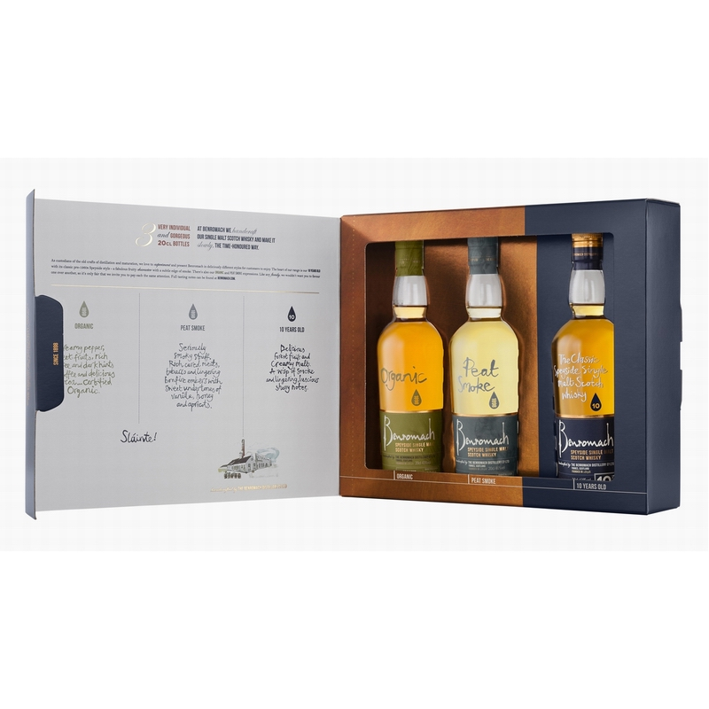 BENROMACH Gift Pack 3x20cl