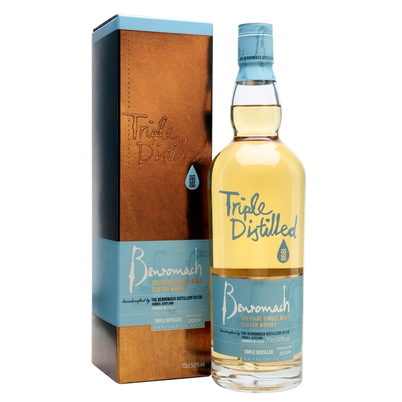 BENROMACH Triple Distilled 2009