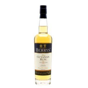 BERRYS' Rum Guyana 14 Years